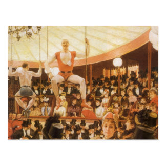 Sporting Ladies (or Circus Lover) by James Tissot Postcard
