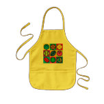 Sports Ball Chequerboard Kids Apron