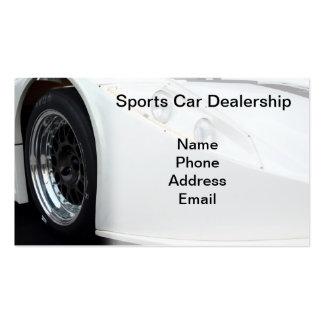 Sports Car Dealership Pack Of Standard Business Cards