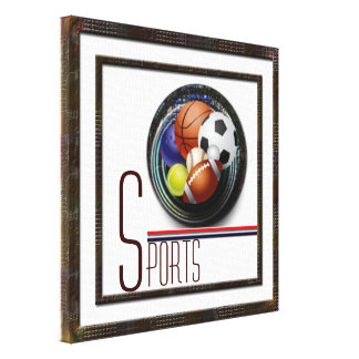 Sports lover canvas prints
