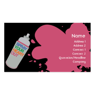 Spray - Business Pack Of Standard Business Cards