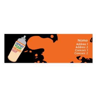 Spray - Skinny Pack Of Skinny Business Cards