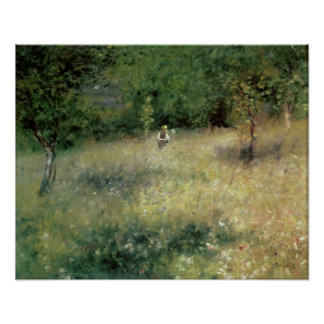 Spring at Chatou, c.1872-5 Poster