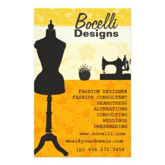 Spring Sunshine Craft Atelier Seamstress Fashion 14 Cm X 21.5 Cm Flyer