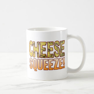 Squeeze Blue Cheese Basic White Mug