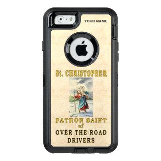 St. CHRISTOPHER  (Patron Saint of OTR Drivers) OtterBox iPhone 6/6s Case