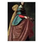 St. Elizabeth of Portugal  1640 Greeting Card