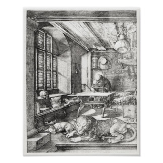 St. Jerome in his Study, 1514 Poster
