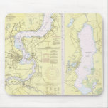 St. John's River FL Chart Mouse Pad