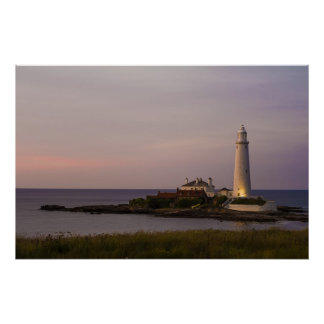St.Marys Lighthouse, Whitley Bay Poster