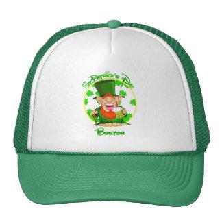 St Patrick's Day Boston Cap