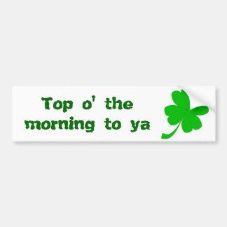 St Patrick's Day Bumper Sticker