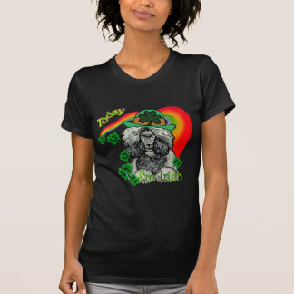 St Patrick's Day Poodle Tshirt