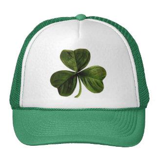St. Patrick's Three Leaf Clover Cap
