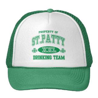 St Patty Drinking Team Cap