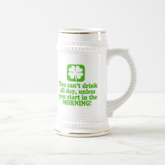 St Patty's Day Green Beer Beer Steins
