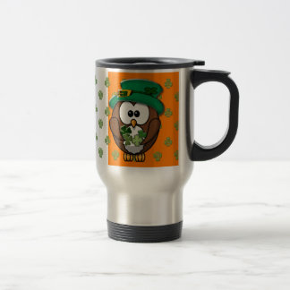 St. Patty's Day Stainless Steel Travel Mug