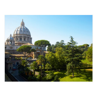 St. Peter's Basilica, Vatican City, Rome, Italy Postcard