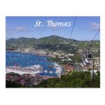 St Thomas View Postcard