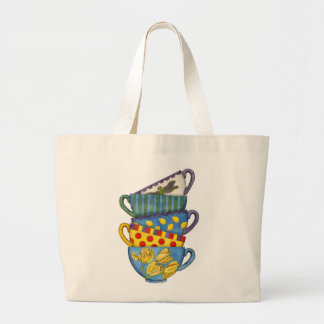 Stacked Teacups Bag