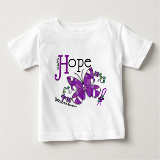 Stained Glass Butterfly Cystic Fibrosis Tshirt