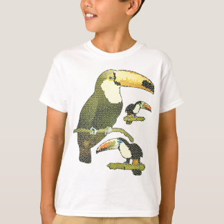 Stained Glass Toucan Shirts