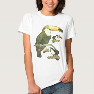 Stained Glass Toucan Tshirts