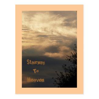 Stairway, To, Heaven Postcard