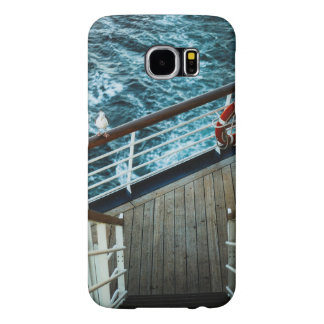 Stairway to next floor of deck in a cruize samsung galaxy s6 cases