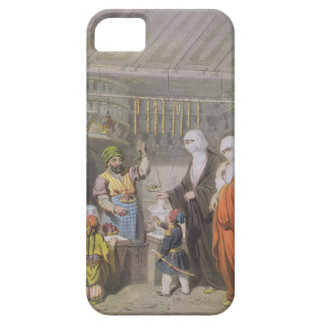 Stallholder selling Spiced Delicacies at the Bazaa iPhone 5 Cover