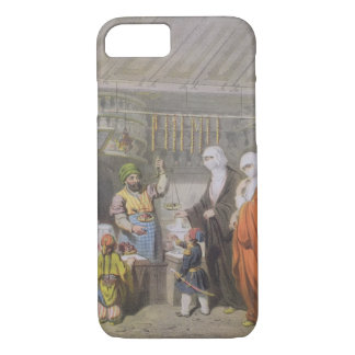 Stallholder selling Spiced Delicacies at the Bazaa iPhone 7 Case