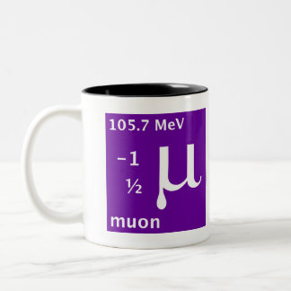 Standard Model (muon) Two-Tone Mug