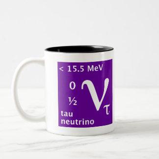 Standard Model (tau neutrino) Two-Tone Mug