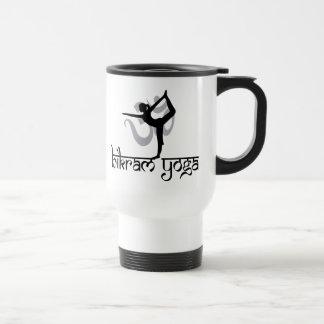 Standing Bow Pulling Pose Bikram Yoga Gift Stainless Steel Travel Mug