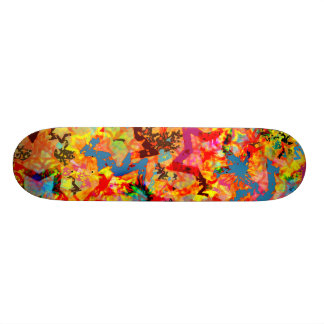 Star Abstract Skateboard