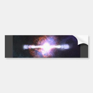 STAR EXPLOSION BUMPER STICKER