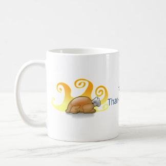 Star of David and Turkey Thanksgivukkah Coffee Mug