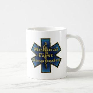 Star of Life - Medical First Responder Basic White Mug