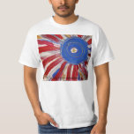 """Star-Spangled Sun"" by Candy Waters Autism Artist Tee Shirt"