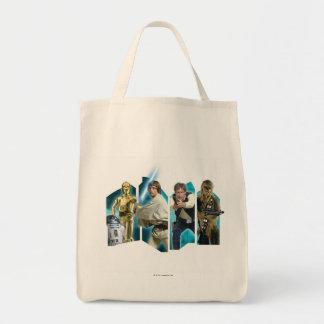 Star Wars Group B Grocery Tote Bag