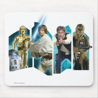 Star Wars Group B Mouse Pad