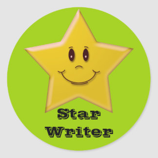 Star Writer Sticker