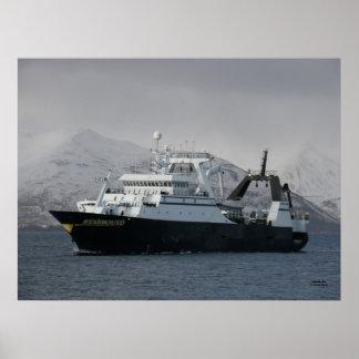 Starbound, Catcher Processor Fishing Vessel Poster