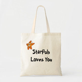 Starfish Loves You Budget Tote Bag