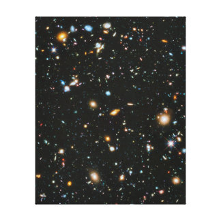 Stars in Space - Hubble Ultra Deep Field Canvas Prints