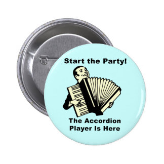 Start the Party! 6 Cm Round Badge