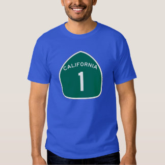 State Route 1, California, USA T Shirts