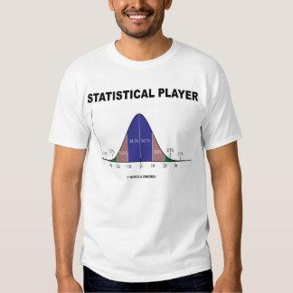 Statistical Player (Statistics Humor) Tees