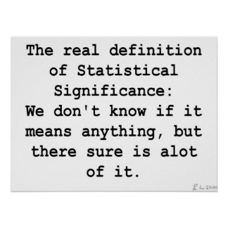 Statistical Significance Poster