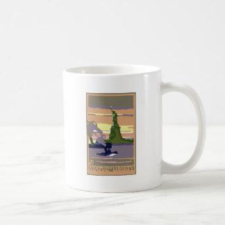Statue Of Liberty Basic White Mug
